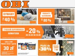 Oferty Budownictwo i ogród na ulotce OBI ( Wygasa jutro)