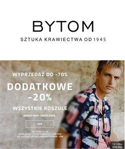 Oferty Ubrania, buty i akcesoria na ulotce Bytom ( Wygasa jutro)