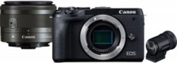 Canon EOS M6 II obiektyw EF-M 15-45mm IS STM + wizjer elektroniczny za 3899 zł
