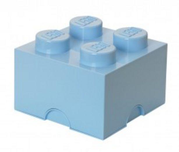 Lego Storage Brick 4 jasnoniebieski za 69,9 zł