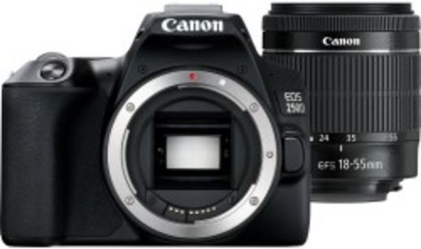 Canon EOS 250D + obiektyw 18-55mm DC III + plecak SB130 za 3299 zł