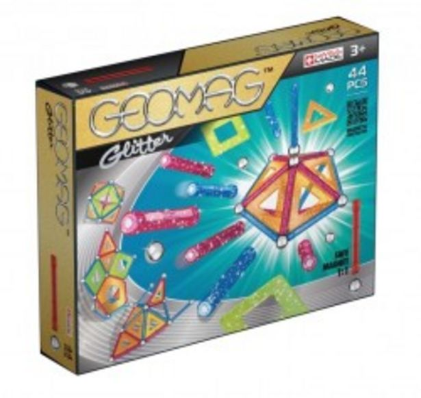 Geomag Panels Glitter 44 el. GEO-532 za 87,9 zł