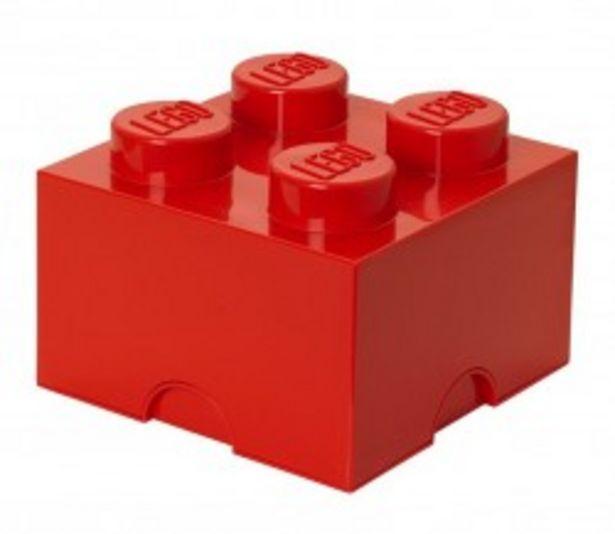 Lego Storage Brick 4 czerwony za 67,9 zł
