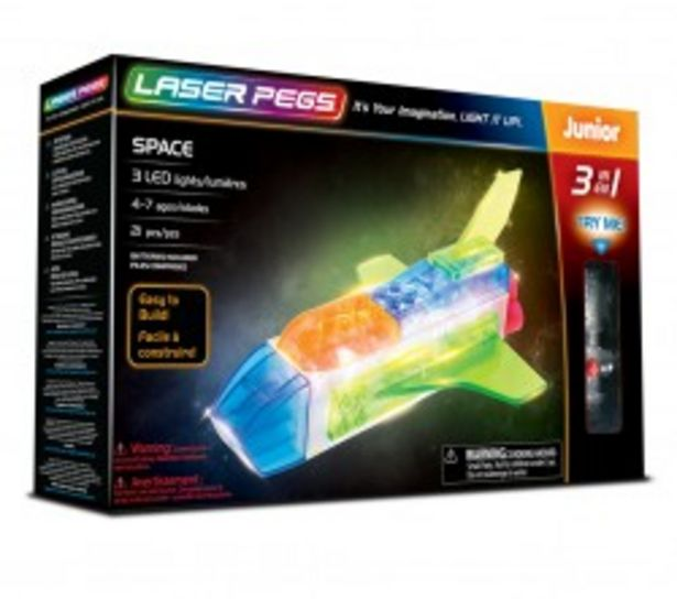 Laser Pegs 3 In 1 Space 31010 za 52,9 zł