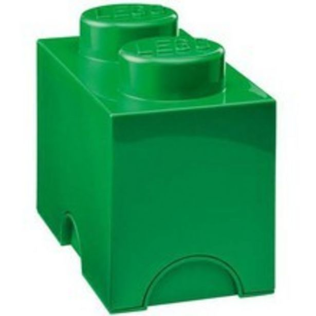 Lego Storage Brick 2 zielony za 42,9 zł