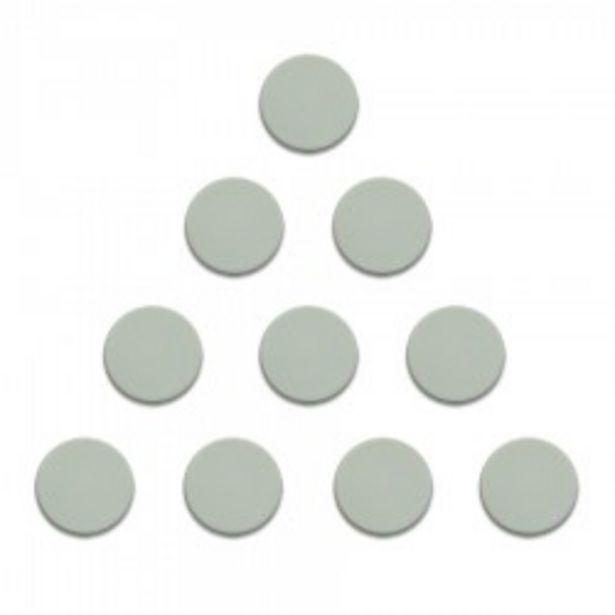 Magnesy 10 sztuk 20 mm białe za 10,9 zł