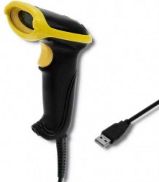 Qoltec Laserowy czytnik kodów kreskowych 1D | USB za 219 zł