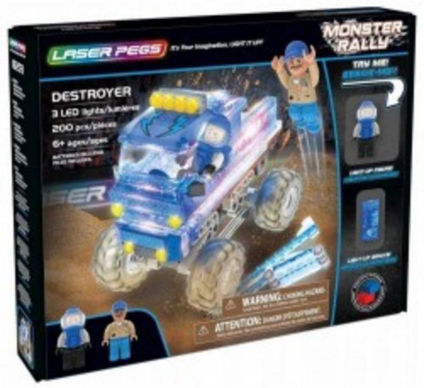 Laser Pegs - Niszczycielki Monster Truck za 129,9 zł