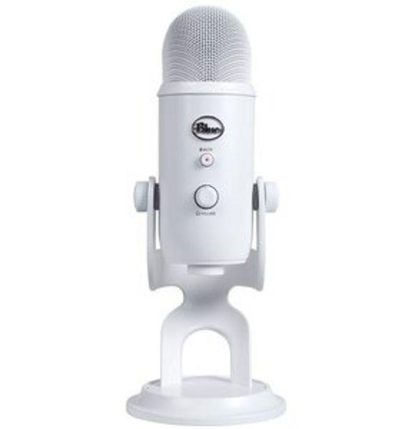 Mikrofon do streamingu BLUE Yeti USB Whiteout 988-000241 za 619 zł
