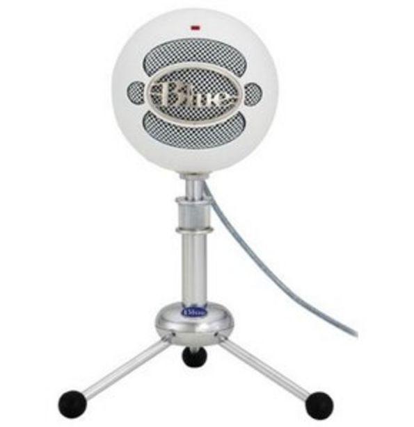 Mikrofon do streamingu BLUE Snowball USB White 988-000187 za 289 zł