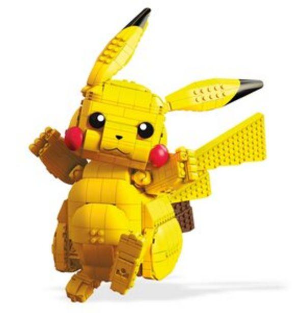 Klocki plastikowe MATTEL Mega Construx Pokemon Jumbo Pikachu FVK81 za 239,06 zł