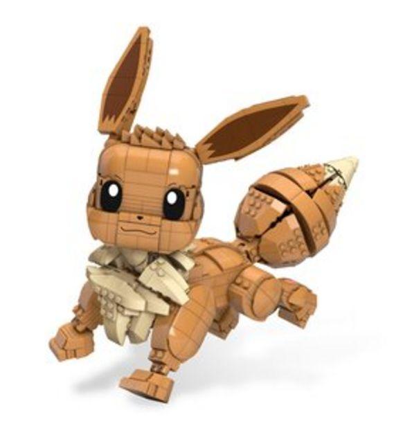 Klocki plastikowe MATTEL Mega Construx Pokemon Duży Eevee GMD34 za 239,06 zł
