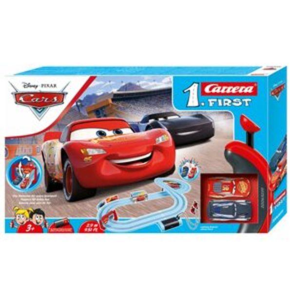 Tor wyścigowy CARRERA First - 63039 Cars Piston Cup za 130,03 zł