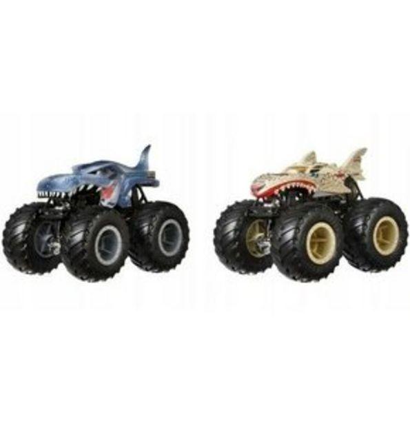 Samochód Hot Wheels Monster Trucks Dwupak za 34,24 zł