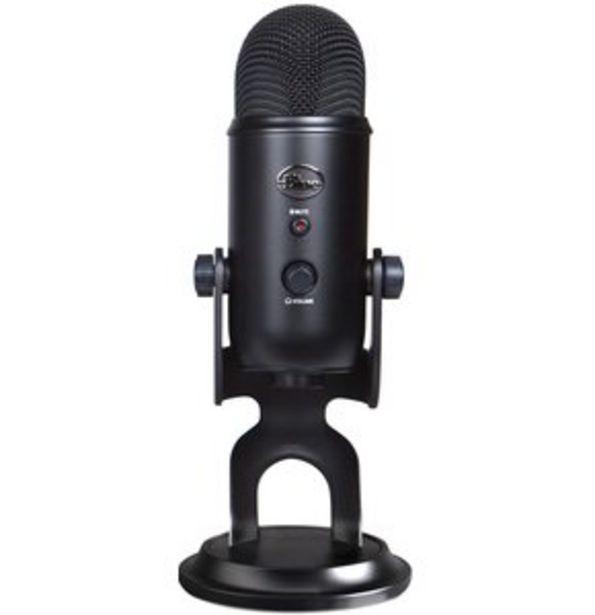 Mikrofon do streamingu BLUE Yeti USB Blackout 988-000229 za 619 zł