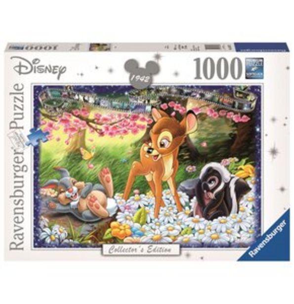 Puzzle 2D RAVENSBURGER Bambi (1000 elementów) za 40,02 zł