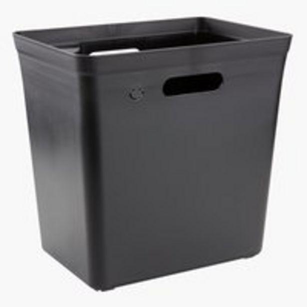Kosz na śmieci VIRGIL S34xD24xW33 czarny za 39,95 zł