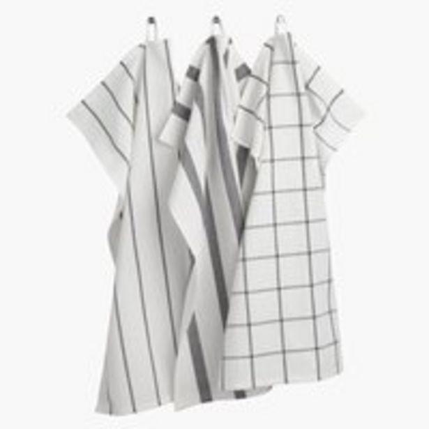 Ręcznik kuch. FLEKKMURE 50x70 3szt mix za 8,5 zł