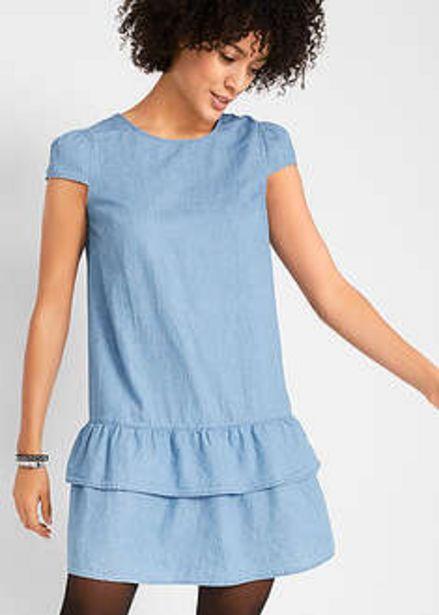 Sukienka dżinsowa z falbaną za 42,99 zł