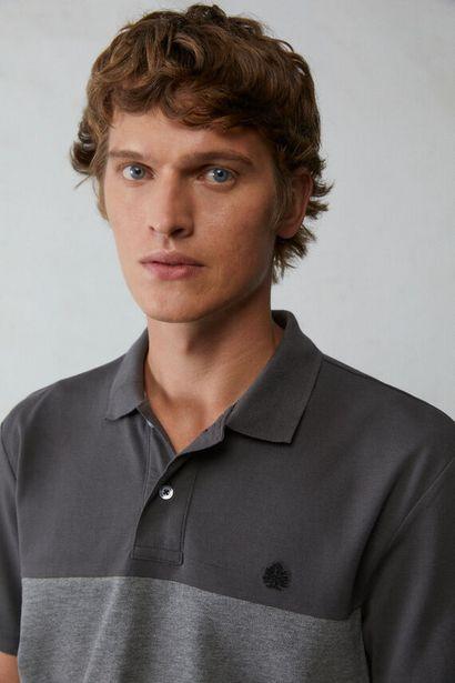Polo shirt with stitched panels za 12,99 zł