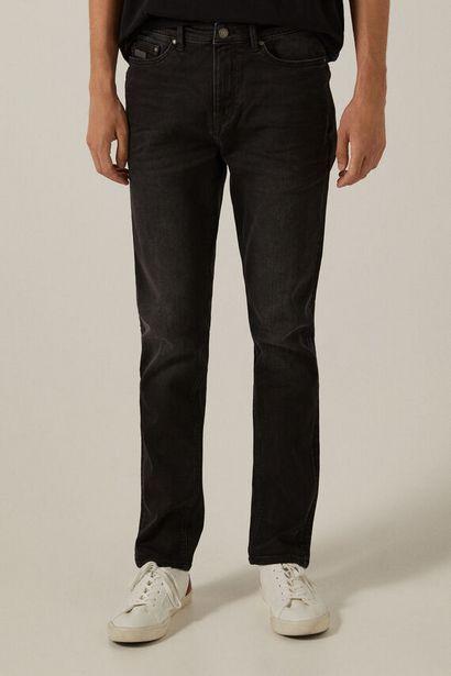 Black wash slim fit jeans za 39,99 zł