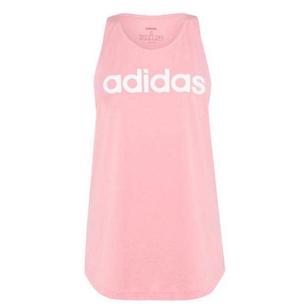 Adidas Womens Essentials Linear Loose Tank Top za 37,8 zł