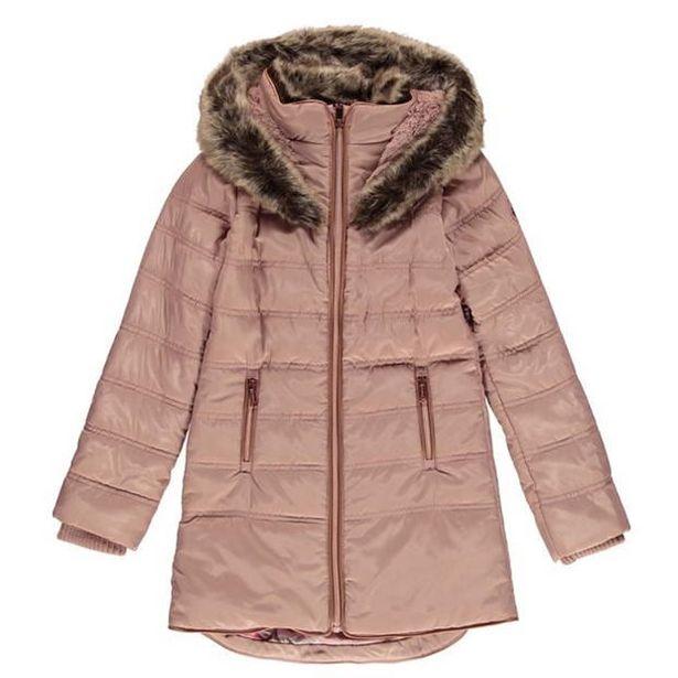 Firetrap Luxury Bubble Jacket Junior Girls za 113,4 zł