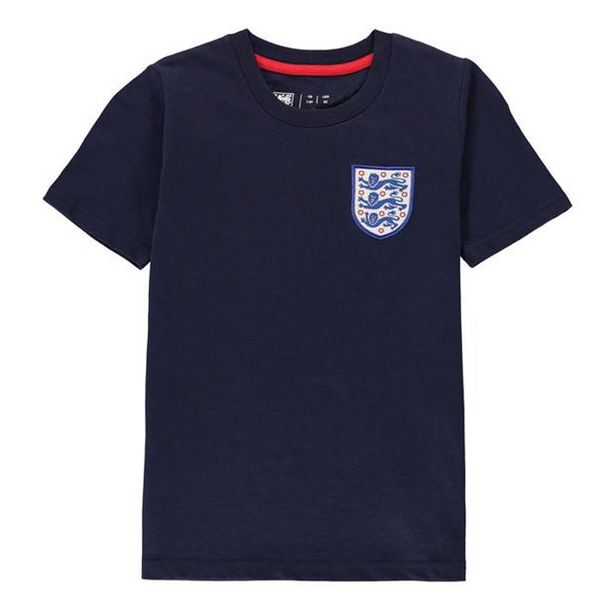 FA England Small Crest T Shirt Infants za 37,75 zł
