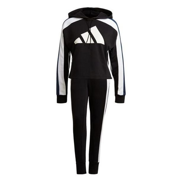 Adidas 3 Bar Ladies Tracksuit za 237,6 zł