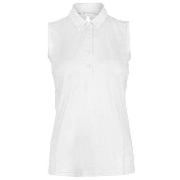 Slazenger Sleeveless Polo Shirt Ladies za 53,95 zł