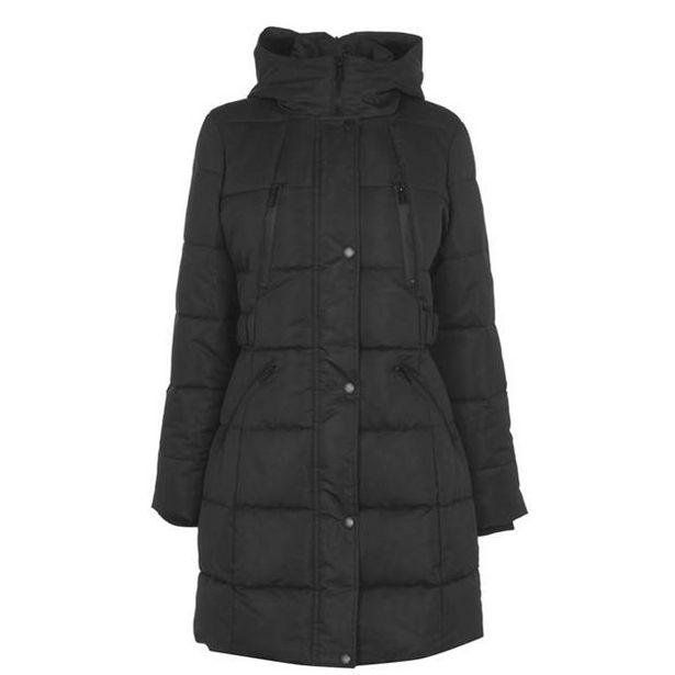 Firetrap Black Mid Jacket Womens za 243 zł