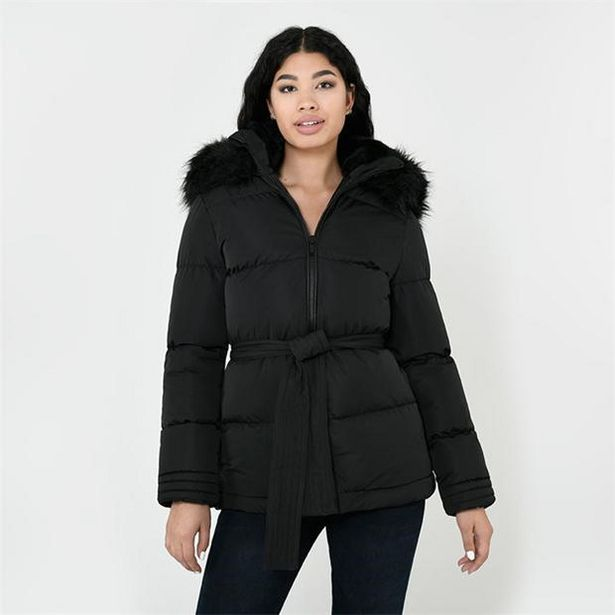 Firetrap Luxe Bubble Jacket Ladies za 153,9 zł
