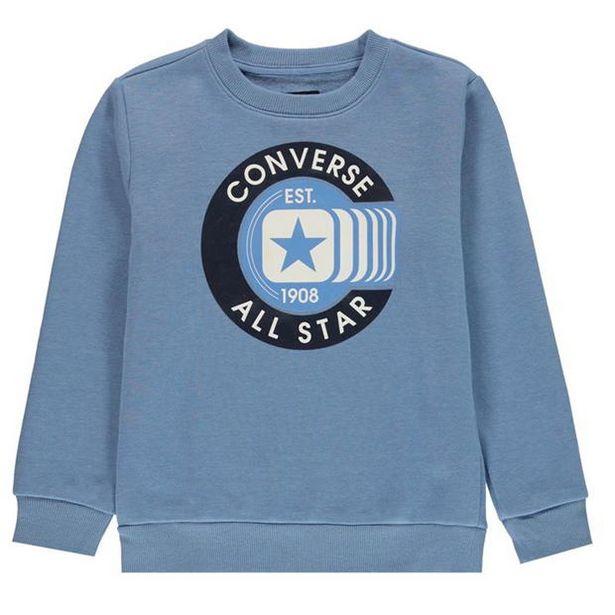 Converse Class Crew Neck Sweatshirt Junior Boys za 81 zł