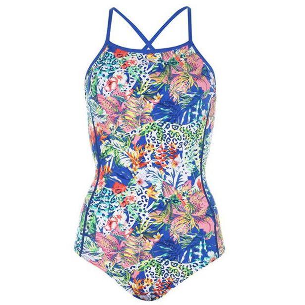 Slazenger Cross Back Swimsuit Ladies za 59,4 zł