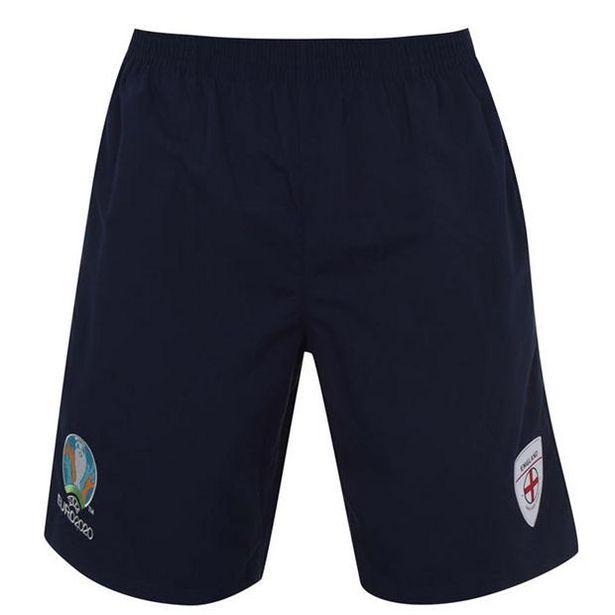 UEFA Euro 2020 England Woven Shorts Mens za 32,4 zł