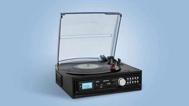 Gramofon i odtwarzacz kaset z portem USB za 239 zł