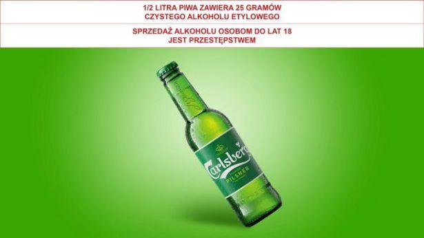 Piwo Carlsberg* za 2,49 zł