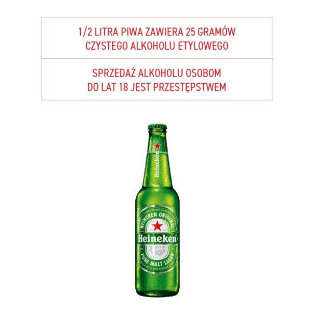 Piwo Heineken za 2,59 zł