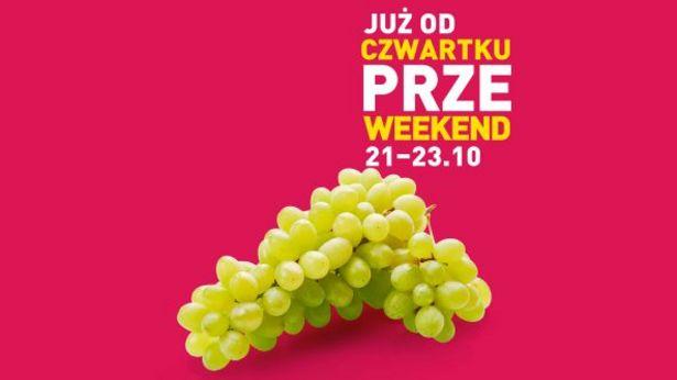 Winogrona zielone bezpestkowe za 4,99 zł