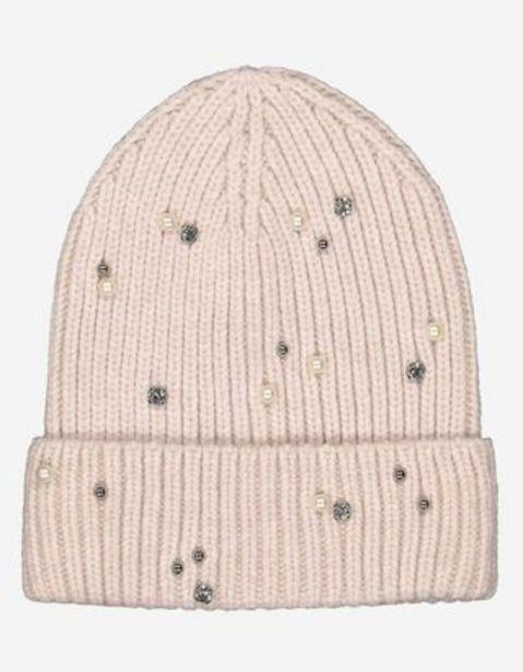 Dział damski czapka - Ozdobne perełki za 34,99 zł