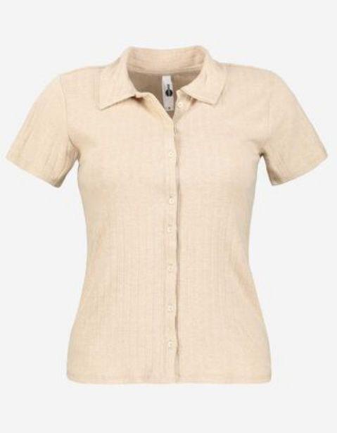 Dział damski koszulka polo - drobny prazek za 44,99 zł