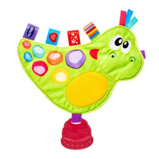 Szeleszcząca zabawka z metkami i gryzaczkiem – Dinozaur za 35 zł