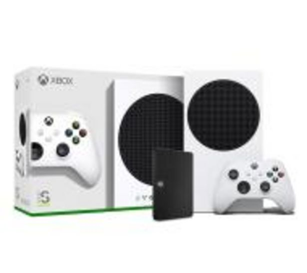 Xbox Series S + dysk Seagate Expansion 1TB za 1524 zł