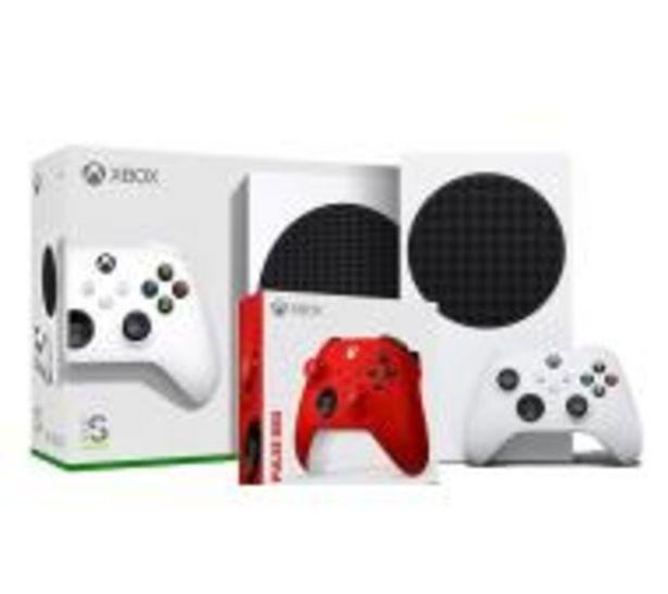 Xbox Series S + dodatkowy pad (czerwony) za 1568 zł