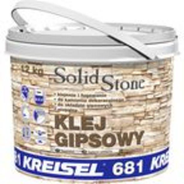 Klej gipsowy do kamienia dekoracyjnego SOLID STONE 681 12 kg Kreisel za 35 zł